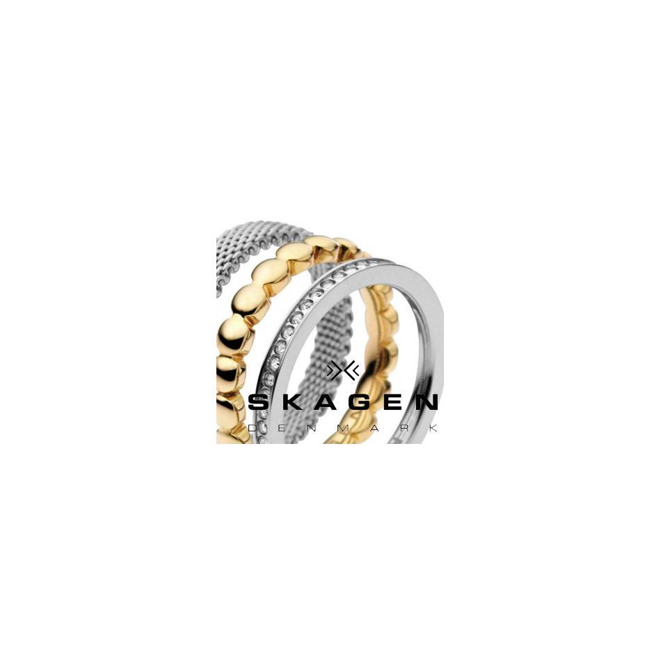 Women Skagen Womens Silver Ring SKJ0091040